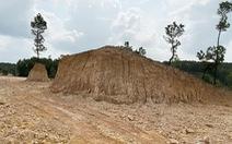 Chính quyền xã tự ý 'xẻ thịt' đồi thông phòng hộ lấy đất trái phép