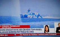 Cận cảnh tàu Trung Quốc rượt tàu chở phóng viên Philippines ở Biển Đông