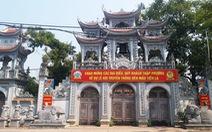 Thái Bình đề nghị người đến cụm đền Tiên La ngày 25-4 liên hệ cơ quan y tế gần nhất