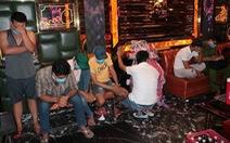 30 người 'phê' ma túy trong quán karaoke ở Trà Vinh