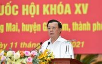 Bí thư Hà Nội Đinh Tiến Dũng hứa gương mẫu và gắn bó mật thiết với cử tri