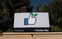 Lần đầu tiên Facebook đạt giá trị vốn hóa hơn 1.000 tỉ USD