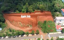 Tự san lấp 1 ngọn đồi bị phạt... 7,5 triệu đồng
