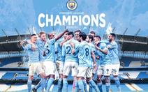 Man City vô địch Premier League sau khi Man Utd bại trận trước Leicester
