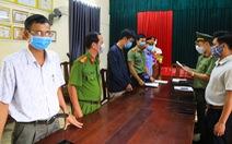 Tổ chức cả xe cảnh giới đưa người Trung Quốc nhập cảnh trái phép