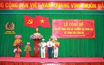 Bổ nhiệm đại tá Nguyễn Trọng Dũng giữ chức giám đốc Công an tỉnh Vĩnh Long