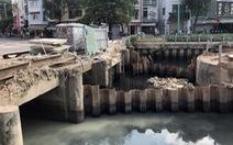 Kênh Nhiêu Lộc - Thị Nghè lại đen thui, bốc mùi, tái ô nhiễm