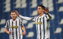Ronaldo ghi bàn thứ 100 cho Juventus