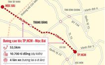 TP.HCM kiến nghị trung ương bổ sung vốn làm cao tốc TP.HCM - Mộc Bài và vành đai 3