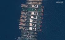 Việt Nam theo dõi sát việc gần 300 tàu Trung Quốc ở Trường Sa