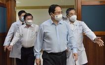 Thủ tướng kiểm tra phòng chống dịch ở 2 bệnh viện: ĐH Y dược, Chợ Rẫy