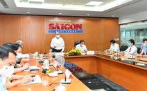 Chủ tịch nước Nguyễn Xuân Phúc thăm báo Sài Gòn Giải Phóng