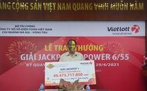 Người chơi thứ hai trúng Jackpot tại Long An tặng từ thiện 200 triệu đồng
