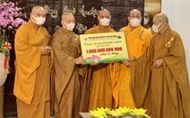 Tăng ni, phật tử TP.HCM ủng hộ Ấn Độ 1 tỉ đồng, chia sẻ nỗi đau vì dịch COVID - 19