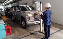 Chỉ kiểm soát khí thải tiêu chuẩn Euro 5 với xe sản xuất mới