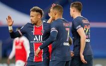 Neymar và Mbappe lập công giúp PSG thu ngắn cách biệt với Lille