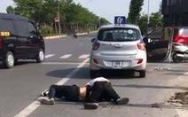 Tài xế taxi bị đâm dao bầu kể về phút vật lộn với tên cướp