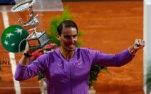 Đánh bại Djokovic, Nadal đoạt chức vô địch Rome Masters