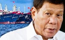 Ông Duterte cấm nội các thảo luận công khai về Biển Đông