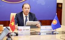 Việt Nam dự họp Tham vấn quan chức cao cấp ASEAN - Trung Quốc lần thứ 27
