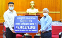 Cộng đồng yêu lan ủng hộ quỹ phòng, chống dịch COVID-19 hơn 45 tỉ đồng