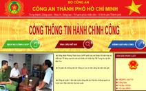 Ra mắt Cổng thông tin dịch vụ hành chính công Công an TP.HCM
