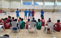 Tuyển futsal VN gia cố hàng thủ trước trận tranh vé dự World Cup 2021