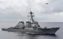Tàu khu trục Mỹ qua eo biển Đài Loan, Bắc Kinh nổi giận