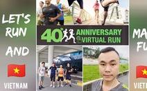 Nhân viên Herbalife Việt Nam tham gia chạy trực tuyến