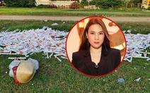 Sân Phú Thọ ngập rác sau 1 tuần do Mỹ Tâm 'tiếc tiền thuê dọn dẹp'?