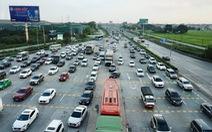 Chiều về Hà Nội nhiều xe nhưng 'chạy được'