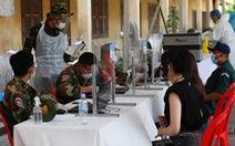 Campuchia thêm 730 ca nhiễm, gấp đôi hôm qua, chủ nhật thành 'ngày đen tối'