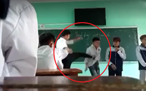 Chấm dứt hợp đồng với thầy giáo tát, đá học sinh trên lớp