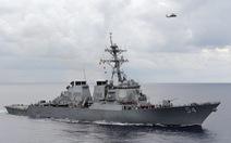 Mỹ bác việc Trung Quốc nói tàu khu trục USS Curtis Wilbur bị trục xuất khỏi quần đảo Hoàng Sa