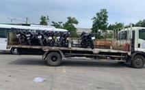 Xe máy từ Đà Nẵng muốn qua Thừa Thiên Huế sẽ được chở bằng xe tải miễn phí