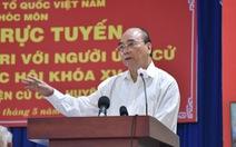 Chủ tịch nước Nguyễn Xuân Phúc: 'Để chiếc trực thăng mang tên TP.HCM cất cánh'