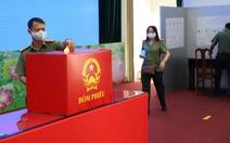 Lực lượng vũ trang Cần Thơ bầu cử sớm, nghiêm ngặt công tác phòng dịch