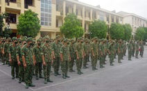 150 cán bộ, chiến sĩ được tăng cường cho tuyến biên giới Cao Bằng