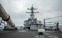 Trung Quốc nói 'đã trục xuất' tàu khu trục Mỹ ở quần đảo Hoàng Sa