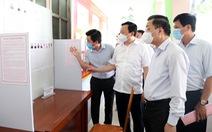 Chủ tịch Hà Nội: 'Trách nhiệm cao nhất, phòng COVID-19 từng khâu ở khu vực bầu cử'