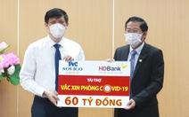 Sovico Group và HDBank ủng hộ 60 tỉ đồng cho chương trình vắc xin phòng ngừa COVID-19