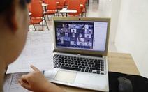 TP.HCM: Họp phụ huynh trực tuyến, 'ship' kết quả học tập tận nhà