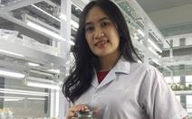 Nữ sinh viên chế tạo nước thảo dược