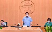 Người từ các nơi về Hà Nội từ 10-5 đến 24-5 phải khai báo y tế