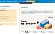 Kho kiến thức hữu ích cho thời đại 4.0 từ cuộc thi Solve for Tomorrow