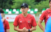 HLV Shin Tae Yong cảm ơn cầu thủ Indonesia sau trận thua Afghanistan