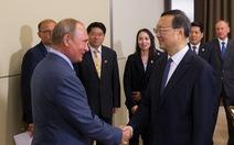 Ông Putin: Quan hệ Nga - Trung đang 'tốt nhất trong lịch sử'