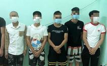 6 thanh niên tụ tập ăn uống giữa tâm dịch bị phạt 102 triệu đồng