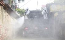 Đưa 15 xe đặc chủng tiêu độc, khử trùng tại Bắc Ninh