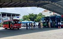 TP.HCM: Hàng quán không phục vụ tại chỗ, xem xét tạm dừng vận tải hành khách đường bộ